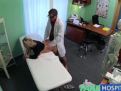 FakeHospital Doctors cock heals sexy squirting blondes