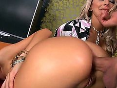 Delicious brunette Sasha Rose and her hot impudent mom Winnie doing wild things