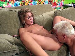 Tanner Mayes gets fucked before she masturbates with a vibe