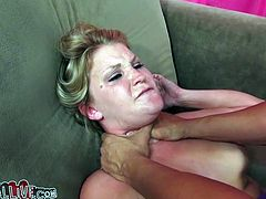 Naughty brownhead bitch is nailed missionary style at first. Then she gets on top of hard stick bouncing intensively. Kinky porn video featuring raunchy porn actress Dani Lane is presented by My XXX Pass studio.