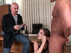 Take a look at this hardcore scene where the busty blonde Tarra White is fucked by a big cock in a threesome.