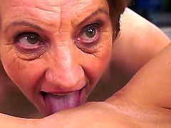 Old Doris adores sweet young pussies. She tastes candy pussy of Piros with great desire and works her sloppy tongue with wet clit of young babe. Enjoy this video!