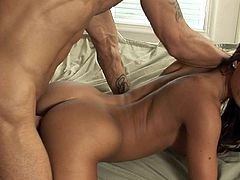 With such cock ready to demolish her pussy, girl feels amazing