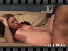 Check out this amazing compilation full of horny cuckold bitches. You will be seeing them cheating on their husbands with big dicks and begging for hard drilling.