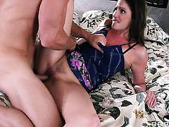 Johnny Sins plays hide the salamy with Samantha Ryan