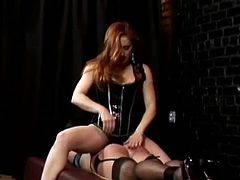 Sissy Discipline brings you a hell of a free porn video where you can see how these gorgeous dommes make you their personal sissy and flaunt their amazing bodies.