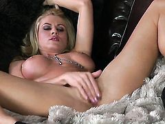Randy Moore with giant knockers and clean cunt loves masturbating for you to watch and enjoy