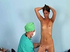 Dirty gyno doctor loves his work