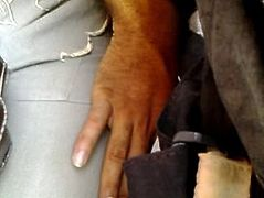 TOUCHING 131 granny in bus