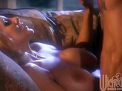 Make sure you take a look at this passionate hardcore scene where the busty blonde Julia Ann is fucked by her lover as her mere moans make you hard.
