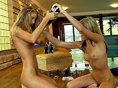 Amazing chicks get together to have superb sex and to demonstrate their sexuality. They are very passionate and they lick their sweet kitties with great delight