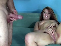 Sarah Stonem has rough sex with a horny old man