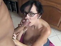 Alia Janine big breated wanking and make cum