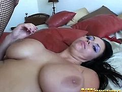 Angelica Sin is ready for some hardcore banging with a huge black cock. It slides easily into her asshole and she likes it very much and screams loud for a deep orgasm.