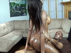There's nothing more you could ask for from this nasty ebony slut as she offers pussy creampie for maximum fucking fun.