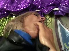 That booty kinky bitch rode on that massive sausage in cowgirl pose. Then she got her loose booty hole fisted in reverse cowgirl and doggy positions. Watch that lusty woman in Porn XN sex clip!