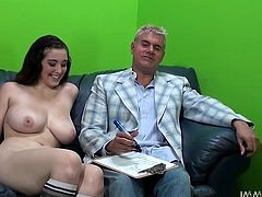 Big boobed and bootylicious babe Noelle Easton shows her hot and sexy body to the camera. watch this slut in My XXX Pass sex clips.