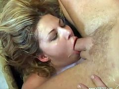 Make sure you have as look at this great group sex scene where these horny ladies make you pop a boner as they suck and fuck big cocks.