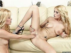 Sophie Moone and Antonya show their love for lesbian sex