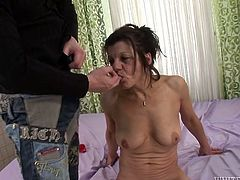Well hung stud gets blown by some nasty mature slut with hairy cooch. Watch this chick in Fame Digital sex clips and videos.