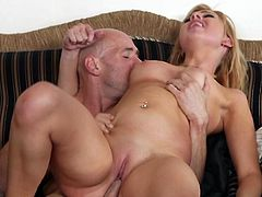 She loves screaming while feeling her pink vag getting ravished in a pure hardcore porn scene