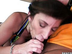 Sara Jay gets her cunt pumped full of cock in steamy action with hot dude