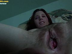 PornCBA brings you an amazing free porn video where you can see how a busty amateur redhead gives a great pov blowjob while assuming some very naughty poses.