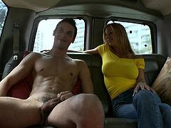 Check out this hot gay scene where these horny fellas fuck in the back seat of this van as you hear them moan and watch them having a great time.