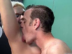 This slutty chick has a strong desire to be fed with her lover's sperm. She sucks her lover's dick with great enthusiasm. Then she gives him one hell of a footjob with those perfect feet of hers.