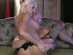 Very handsome Johnny Sins wants to drill Summer Brielle so much after he saw her in those sexy stockings. She teases him until he grabs her and just impales her.