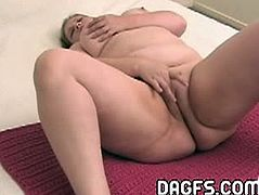 Real Mom Exposed brings you a hell of a free porn video where you can see how this nasty blonde bbw fingers her tight pink cunt into a an amazing solo orgasm.