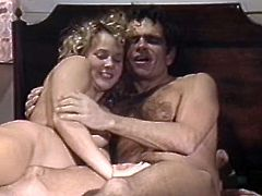 Watch this horny and sexy milf getting fucked by her friend really hard in her bedroom in Classic Porn sex clips.