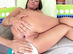 Chloe Reece Ryder gets her ass poked ruthlessly