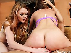 Maddy OReilly and her hot fuck buddy Danny Mountain enjoy sex too much to stop