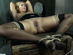 Blonde Linda Ray gets unthinkable lesbian pleasure to Kathia Nobili in girl-on-girl action