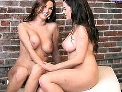Newly found friends Taylor Vixen and Sabrina Mareen enjoys making out for the first time. Watch how hot and tempting their 69 scenes I am sure you will not forget this.