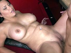 Rough sex leaves Sophia Lomeli splattered by semen