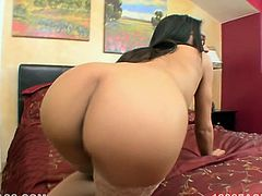 That sausage is pretty thick. That black haired whorish hottie with small tits got her kitty fingered a bit. Then she set to suck that fat cock ardently. Look at this kinky woman in My XXX Pass porn clip!