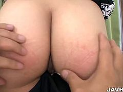Jav HD brings you a hell of a free porn video where you can see how this horny Japanese brunette gets her cunt shaved and dildoed into a breathtaking orgasm.