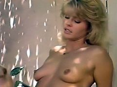 One light haired babe licks wet cunt to the other one on the hotel balcony. Have a look at these chicks in The Classic Porn sex clip.
