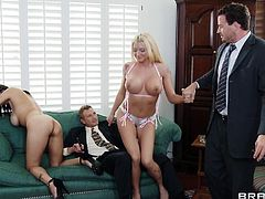 Take a look at this hardcore scene where the busty brunette Shay Sights is nailed by a guy with a big cock as you cannot take your eyes off her body.