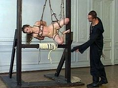 Exorcism for russian girl - Part I - suspension and roping
