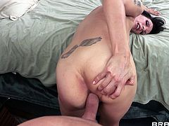 Have a look at this great hardcore scene where the busty Shay Sights sucks on this guy's thick cock before being fucked and facialized by a guy.