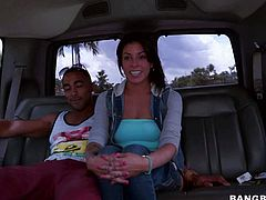 Bangbus girl Bethany with beautiful tight ass