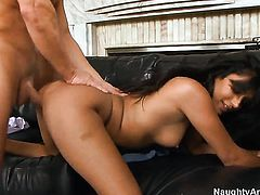 Naughty whore Shazia Sahari and hard cocked dude Jack Lawrence have a lot of sexual energy to spend