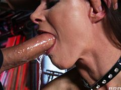 Take a look at this hardcore scene where the sexy India Summer ends up with a messy facial after being fucked while wearing a sexy outfit.