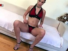 Long and black haired strumpet with small tits and sweet pussy adores hard anal sex. Now she is gonna use her hard fist to please her thirsting asshole.Have a look at that dirty bitch in Porn XN sex video!