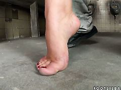 Brittany Spring spreads her legs to take guys erect ram rod in her wet spot