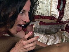 Never did she felt so good with a huge black dong smacking her cramped vag in such rough hardcore scene