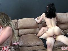Pale skin goth slut Asphyxia Noir gets furiously fucked missionary style